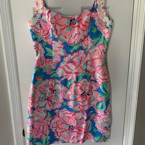 Lilly Pulitzer Bright Floral Dress